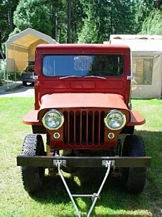 1950 Willys Other Willys Models for sale 100966230