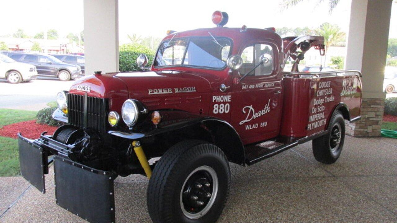 1951 Dodge Power Wagon for sale near Valdosta, Georgia 31602 ...