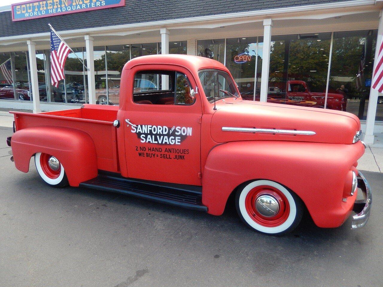 Hagerty Car Value >> 1951 Ford F1 for sale near Clarkston, Michigan 48346 - Autotrader Classics
