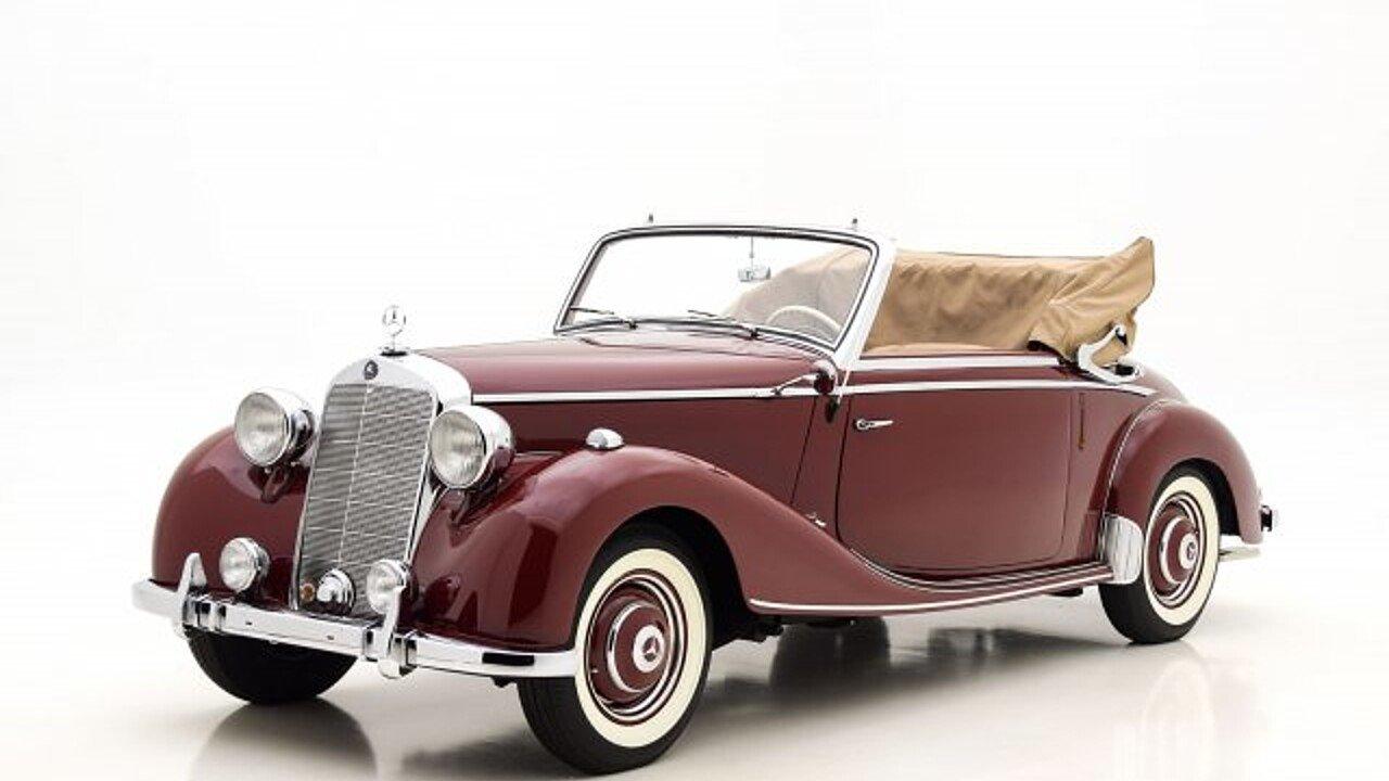 1951 Mercedes-Benz 170S for sale near Saint Louis, Missouri 63146 ...