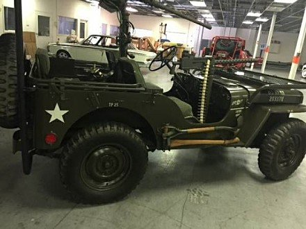 1951 Willys CJ-3A for sale 100823850