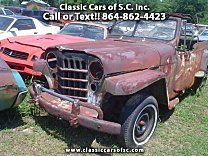 1951 Willys Jeepster for sale 100741571