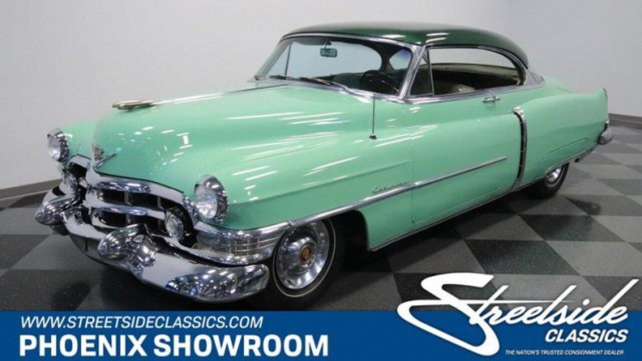 1952 Cadillac Series 62 For Sale Near Meza Arizona 85204 Classics 50s V8 Engine 101011709