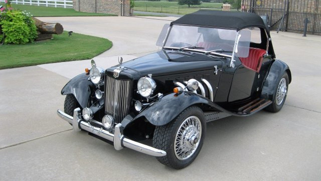 Mg Td Replica Cars For Sale