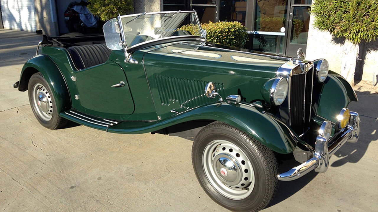 1952 MG MG-TD for sale near Spring Valley, California 91978 ...