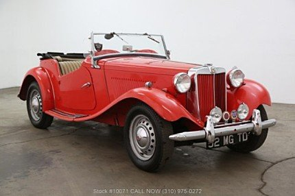 1952 MG MG-TD for sale 101034104
