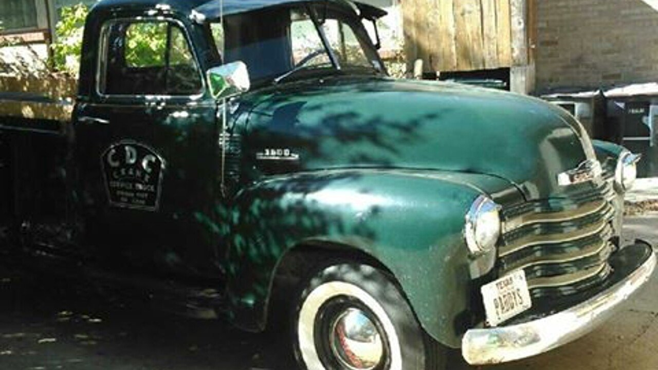 1953 Chevrolet 3600 for sale 100842166