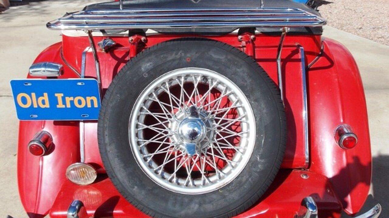 1953 MG MG-TD for sale near Tuscon, Arizona 85743 - Classics on ...