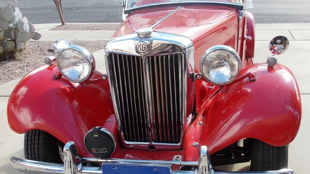 1953 MG MG-TD for sale near Tuscon, Arizona 85743 - Classics on ...