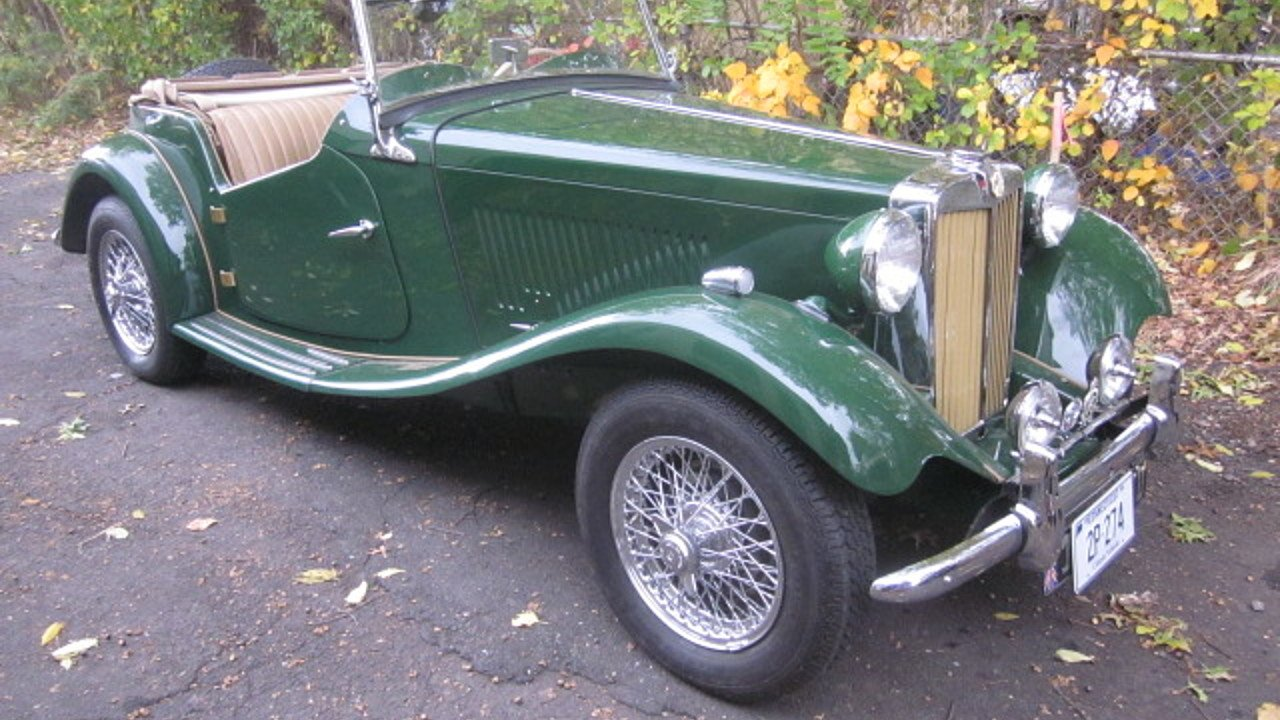 1953 MG MG-TD for sale near Stratford, Connecticut 06615 - Classics ...