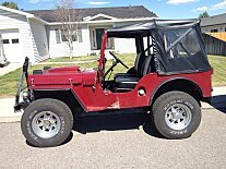 1953 Willys CJ-3A for sale 100907284