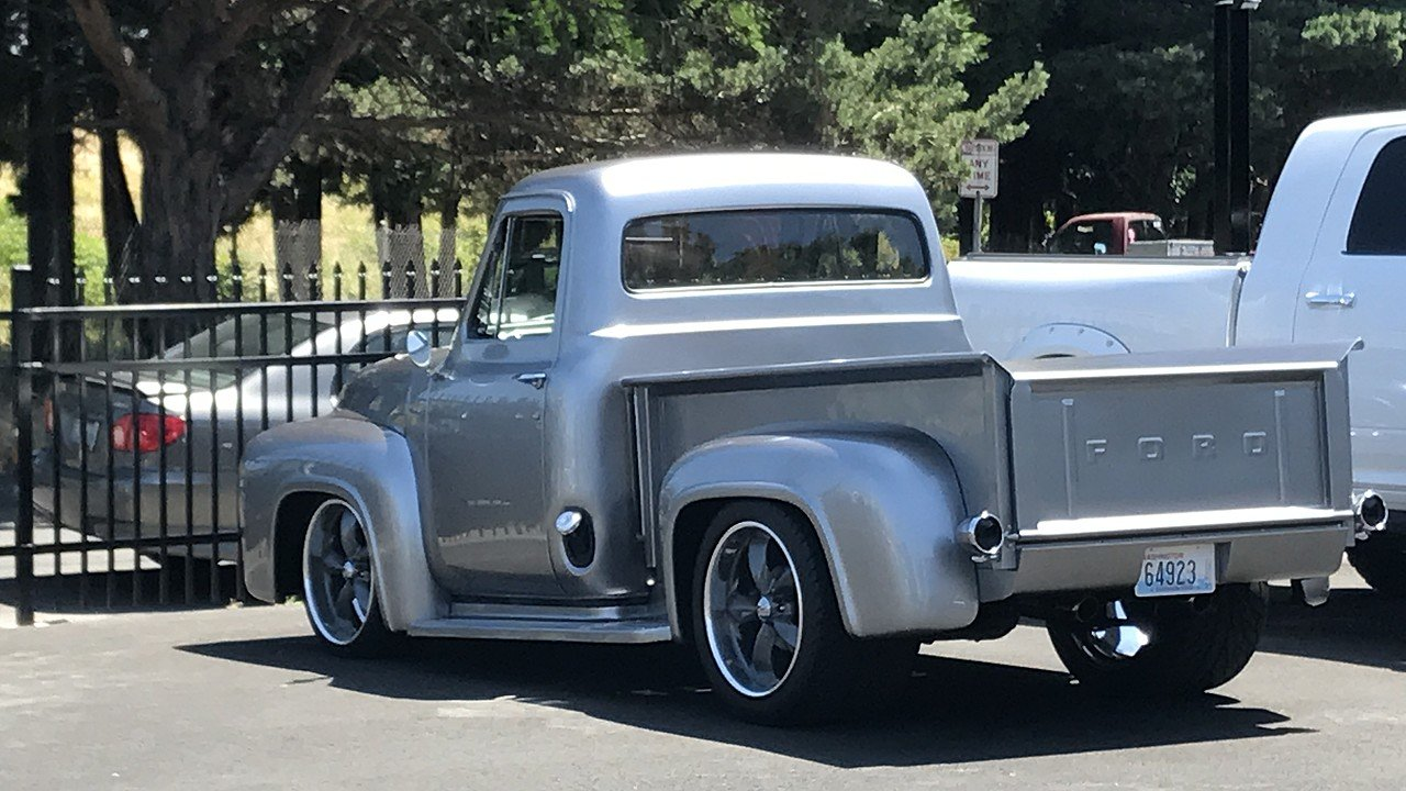 1954 Ford F100 2WD Regular Cab for sale 100890750