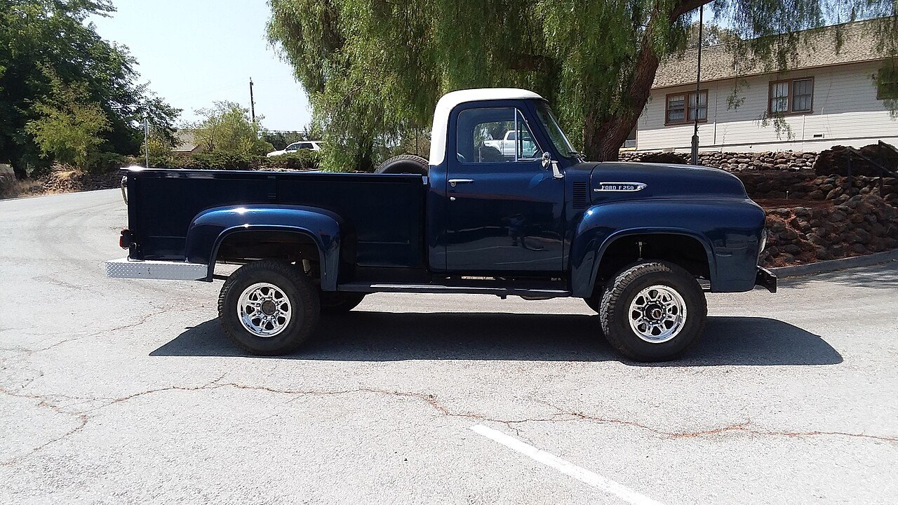 1954 Ford F250 4x4 Regular Cab For Sale Near Hollister California Chevy Truck 101018312