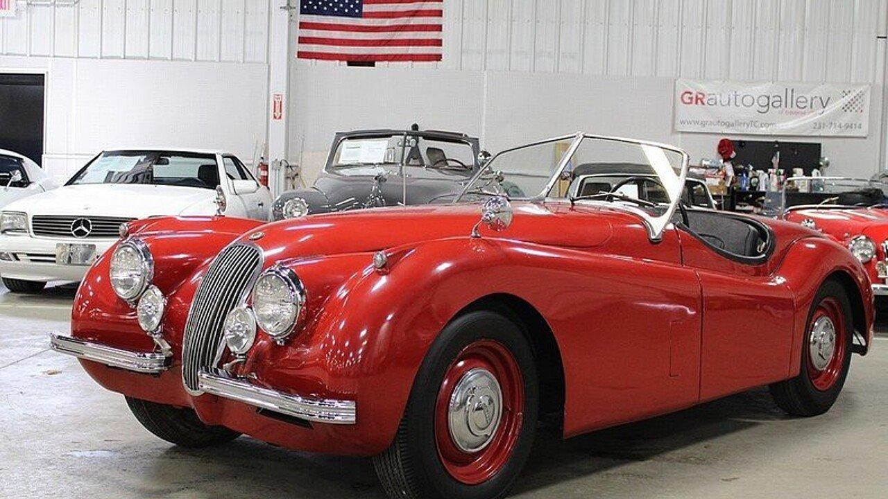 1954 Jaguar XK 120 for sale near Grand Rapids, Michigan 49512 ...