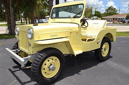 1954 Willys CJ-3B for sale 100887299