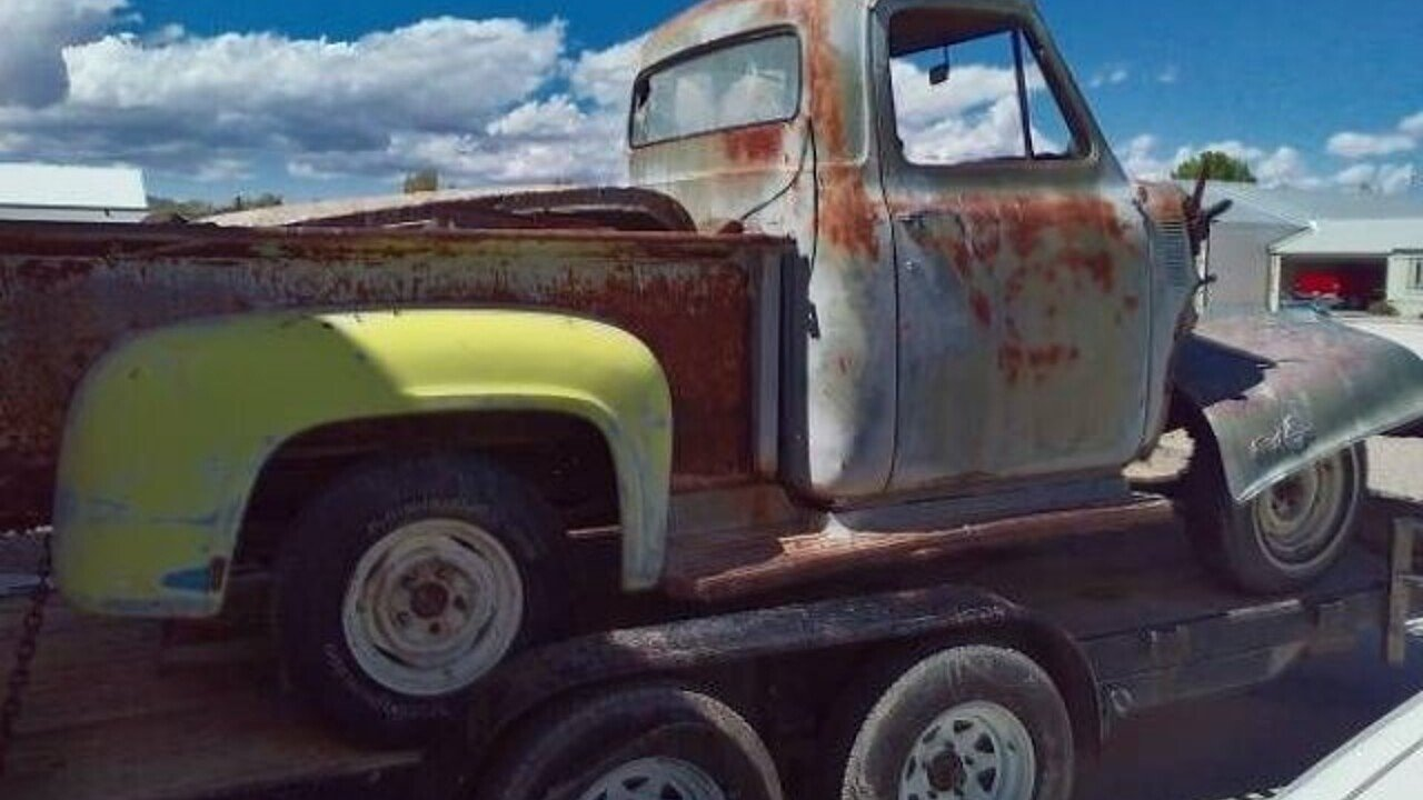 1955 Ford F100 For Sale Near Cadillac Michigan 49601 Classics On Long Bed 100824153