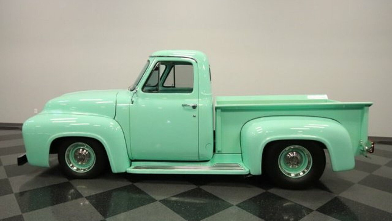 1955 Ford F100 For Sale Near Meza Arizona 85204 Classics On Side View 100952857