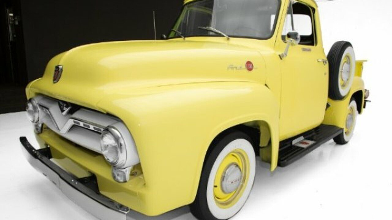 1955 Ford F100 For Sale Near Des Monies Iowa 50309 Classics On Pick Up Gauge Cluster 100973845