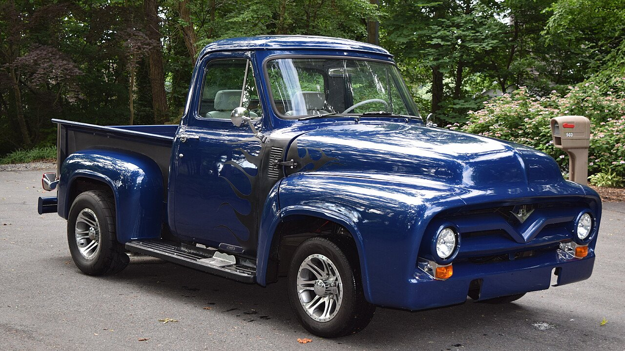 1955 Ford F100 2wd Regular Cab For Sale Near Crownsville Maryland Pick Up 101001632