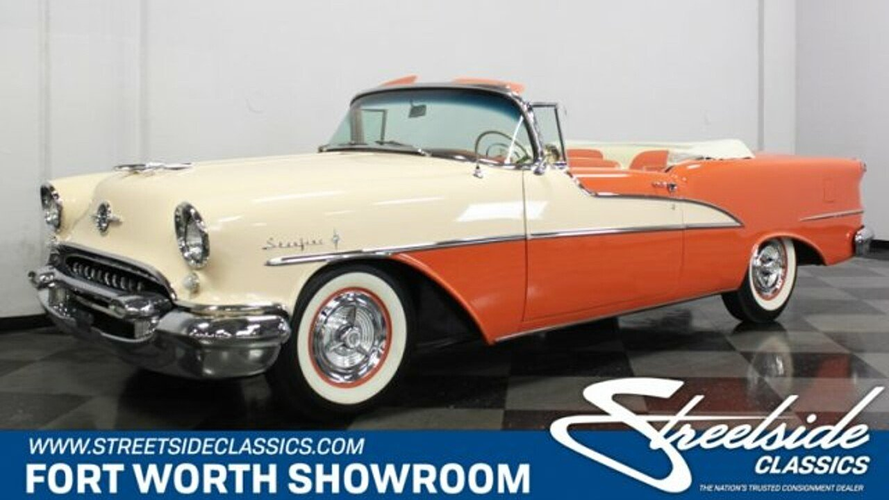 1955 Oldsmobile Ninety-Eight for sale near Fort Worth, Texas 76137 ...