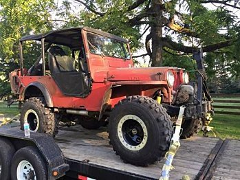 1955 Willys Other Willys Models for sale 100836785