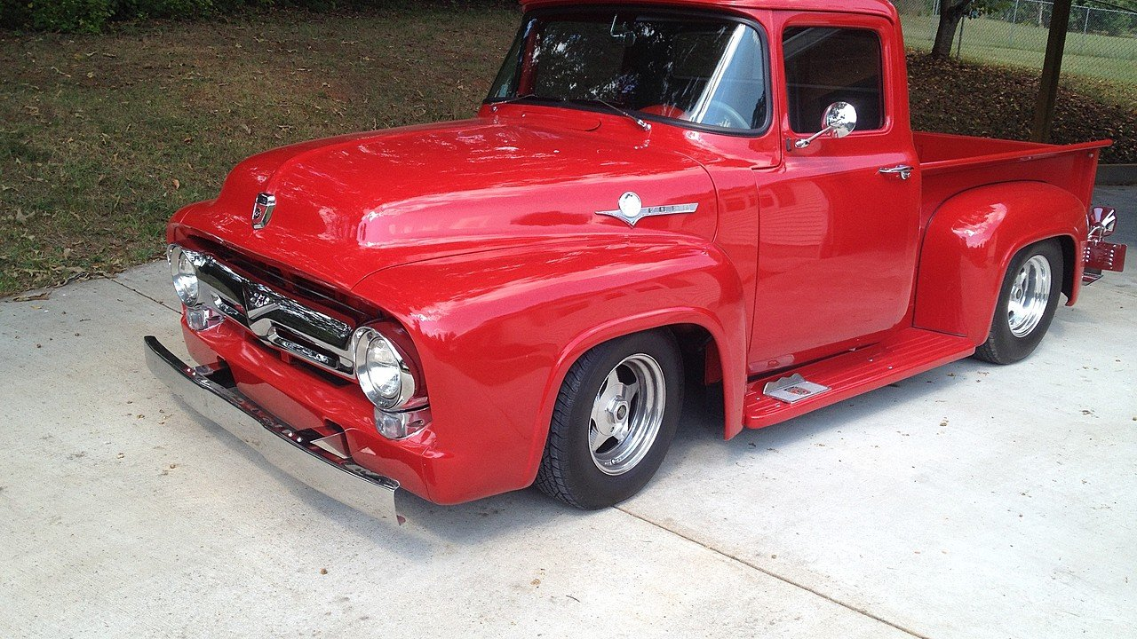 1956 Ford F100 2WD Regular Cab for sale 100943560