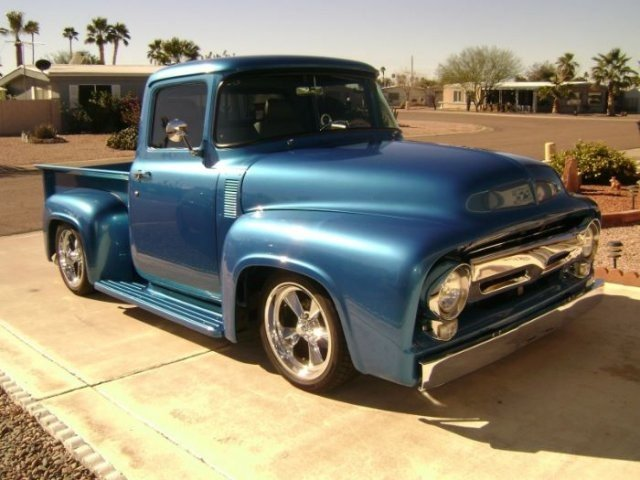 1956 Ford F-100 Pickup Truck - Hot Rod Network