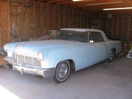 1956 lincoln continental classics for sale classics on. Black Bedroom Furniture Sets. Home Design Ideas