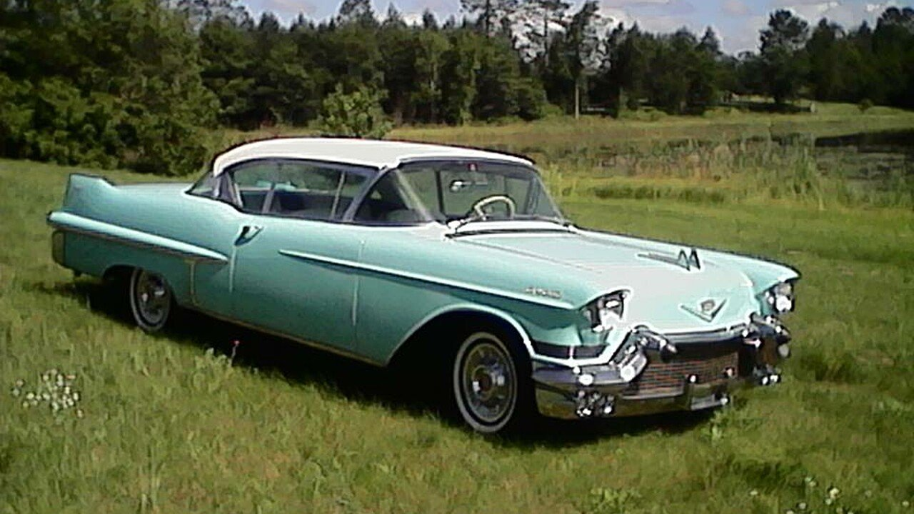 1957 Cadillac De Ville for sale 100892282