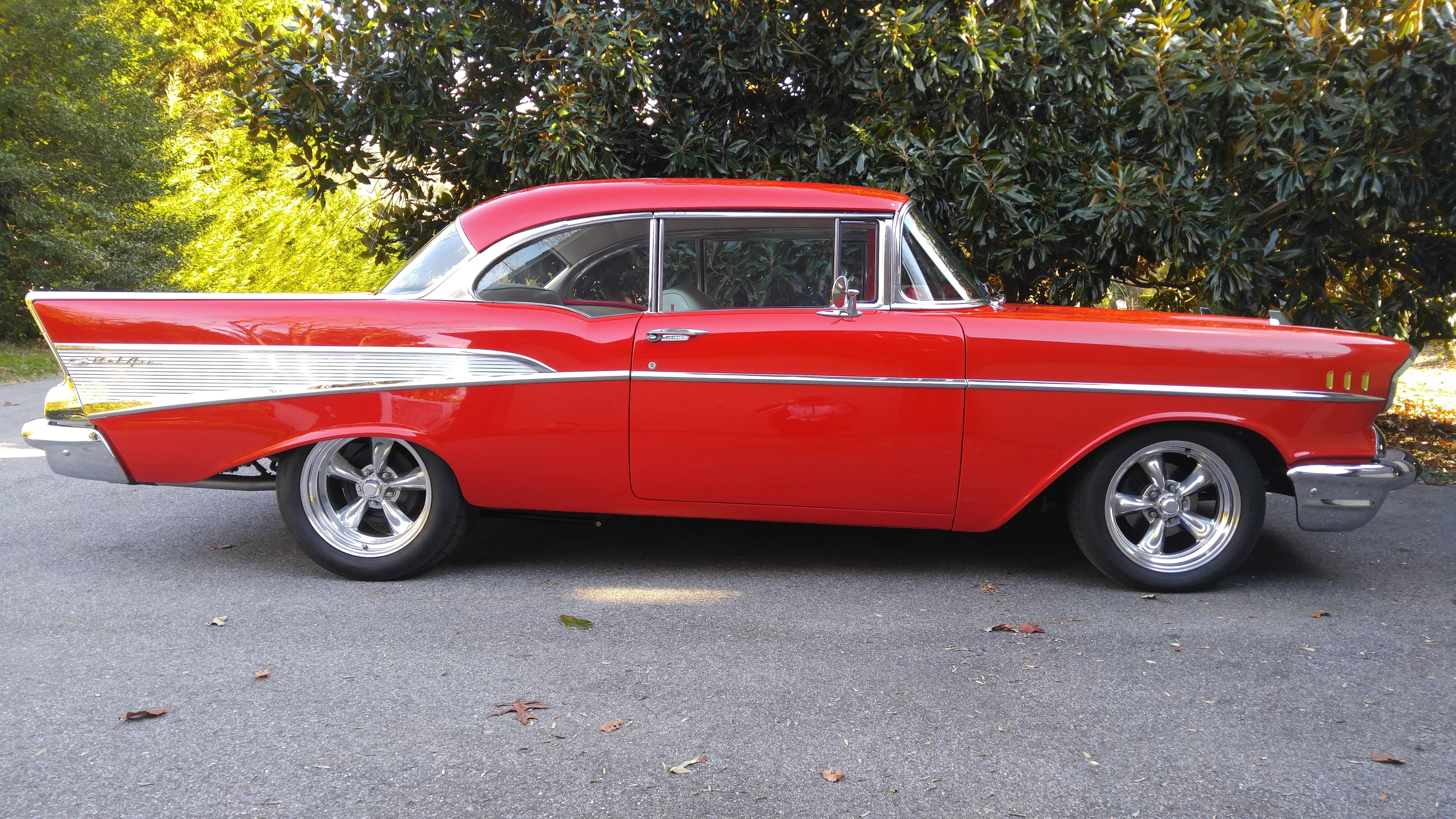 Red 57 Chevy Bel Air,Chevy.Wiring Diagram Database