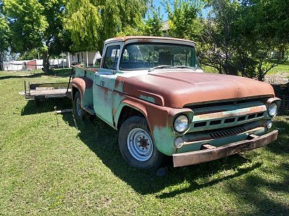1957 Ford F100 2WD Regular Cab for sale 100992372
