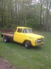 1957 Ford F100 2WD Regular Cab for sale 100996938