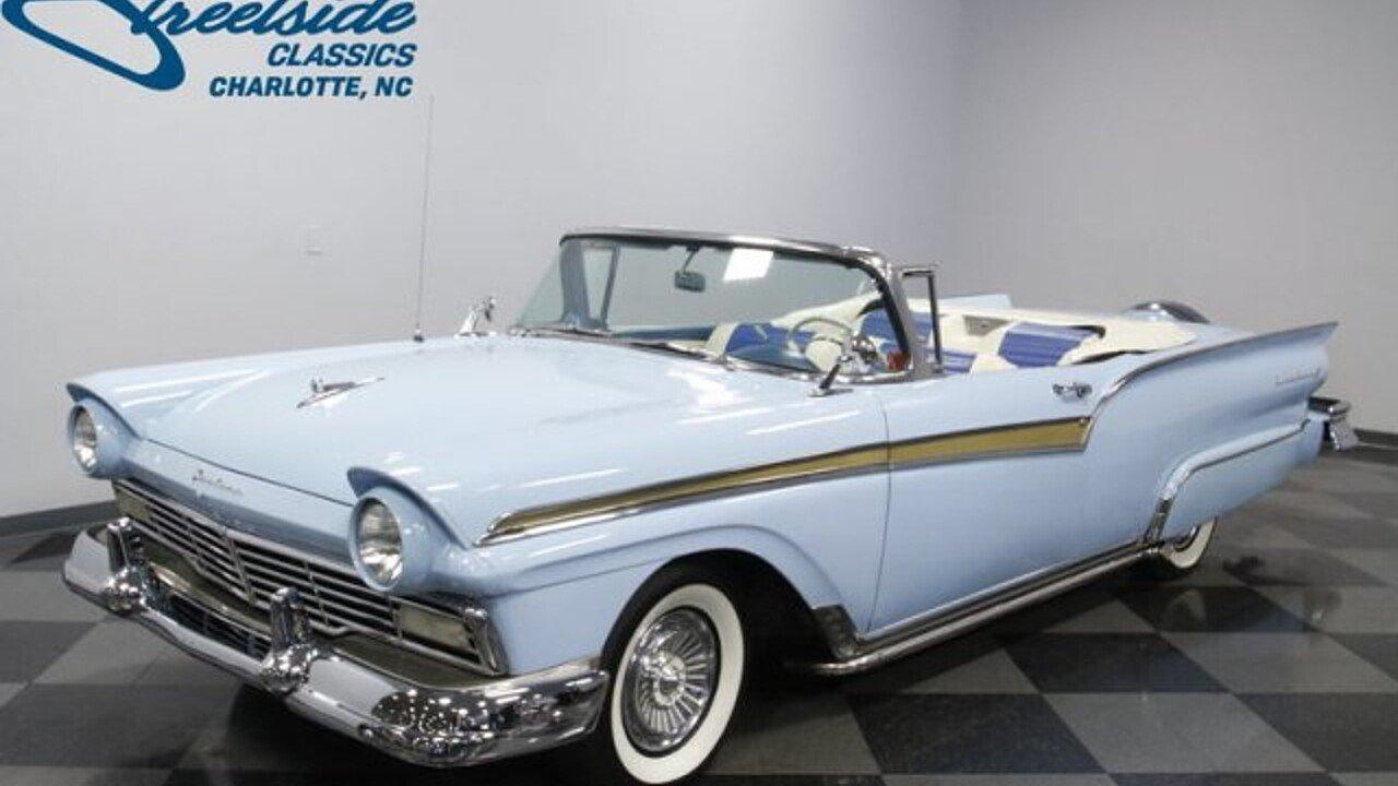 1957 Ford Fairlane for sale near Concord, North Carolina 28027 ...