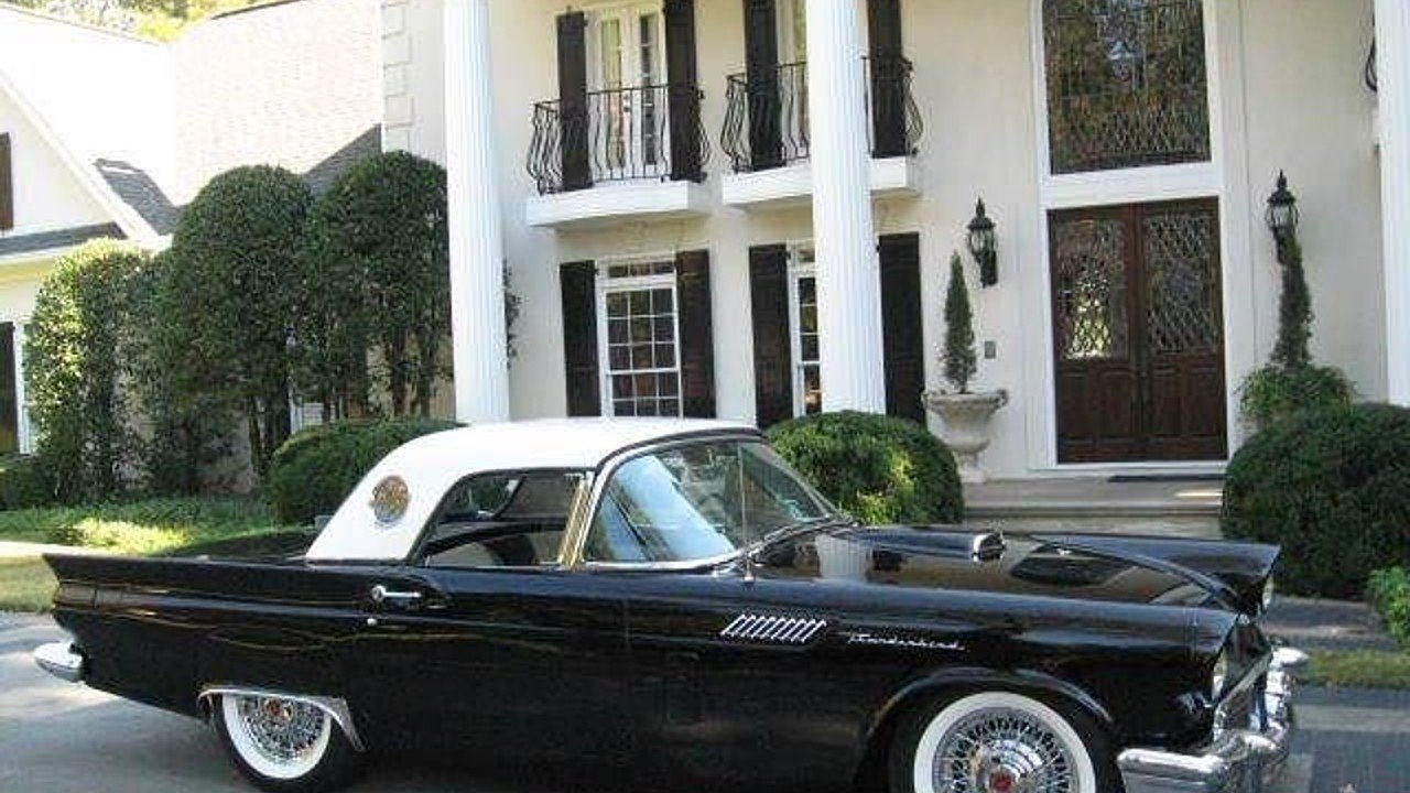 1957 Ford Thunderbird for sale 100860352