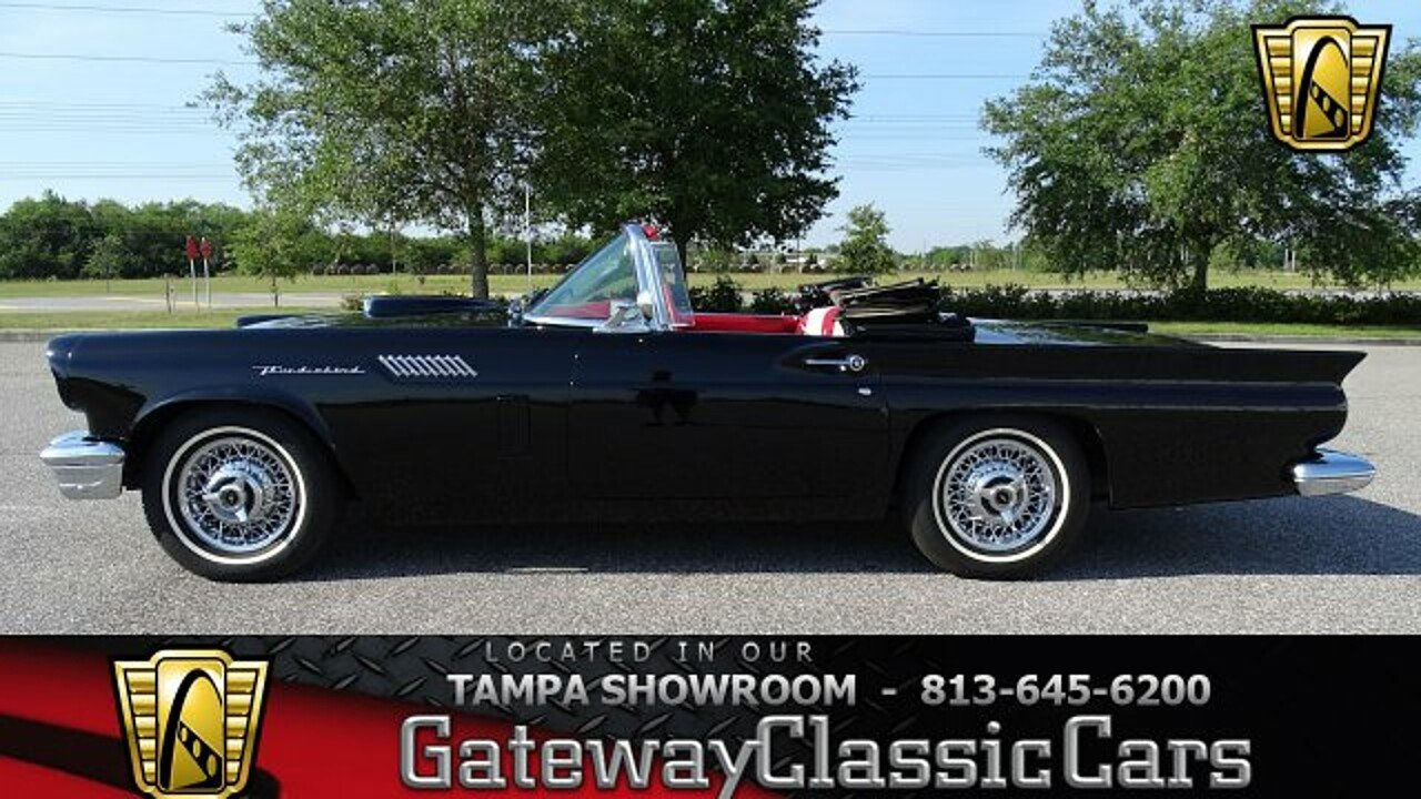 1957 Ford Thunderbird for sale 100871279