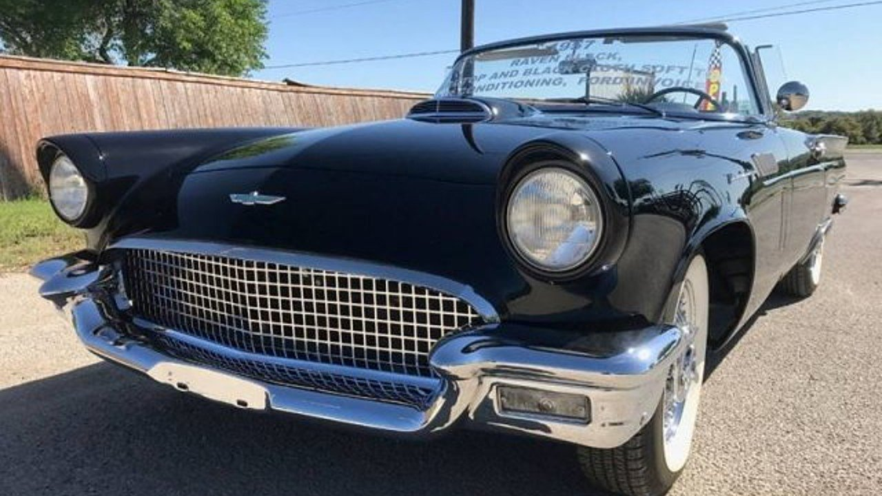 1957 Ford Thunderbird for sale 100881457