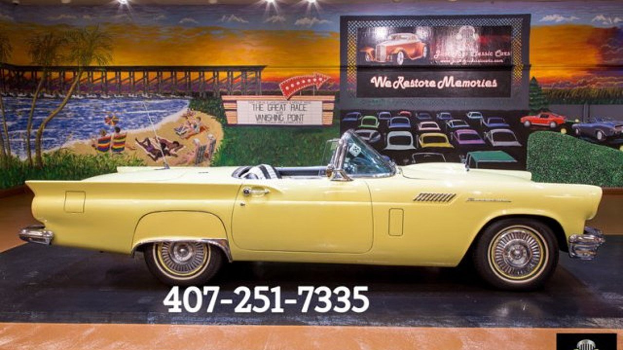1957 Ford Thunderbird for sale 100890697
