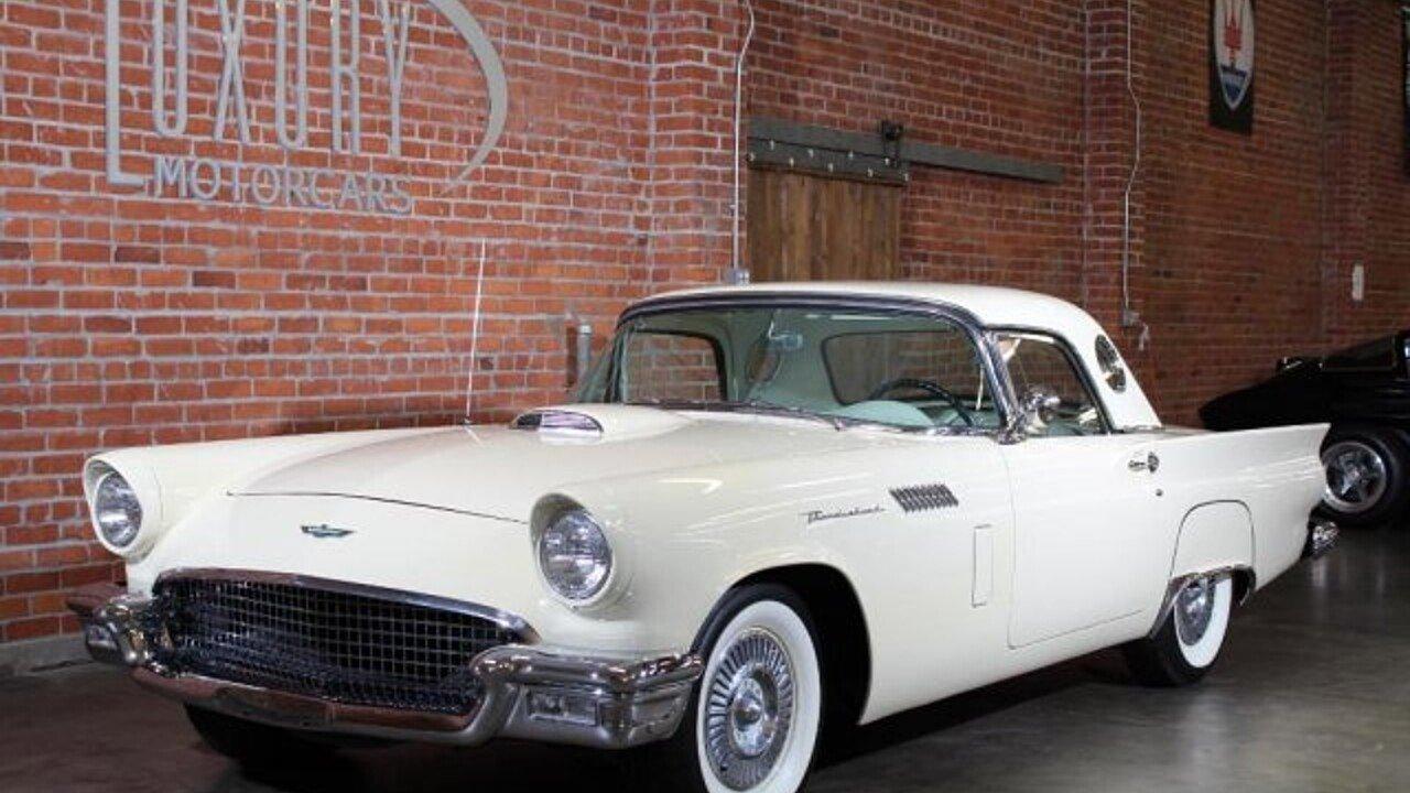 1957 Ford Thunderbird for sale near Sacramento, California 95819 ...