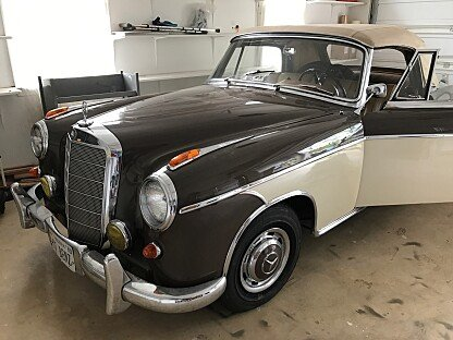 Mercedes benz 220 classics for sale classics on autotrader for Mercedes benz of arlington va body shop