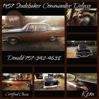 1957 Studebaker Commander for sale 100886805