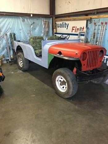 1957 Willys CJ-5 for sale 100824285