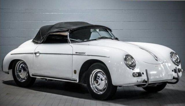 1960 porsche speedster