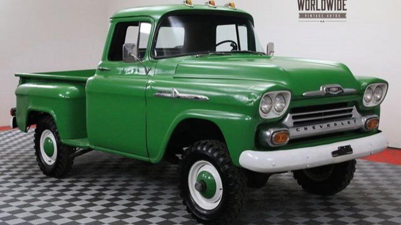 1958 Chevrolet 3100 for sale near Denver, Colorado 80205 - Classics ...