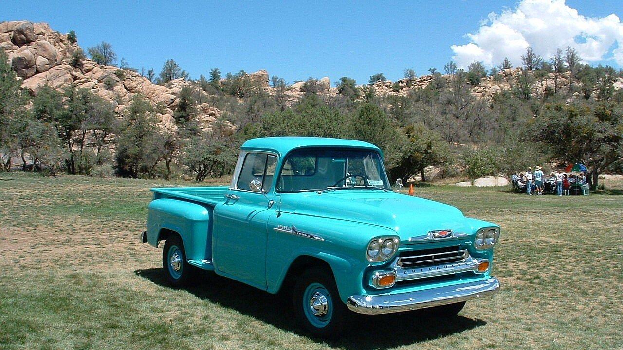 1958 chevrolet apache for sale near buckeye arizona 85396 classics on autotrader. Black Bedroom Furniture Sets. Home Design Ideas