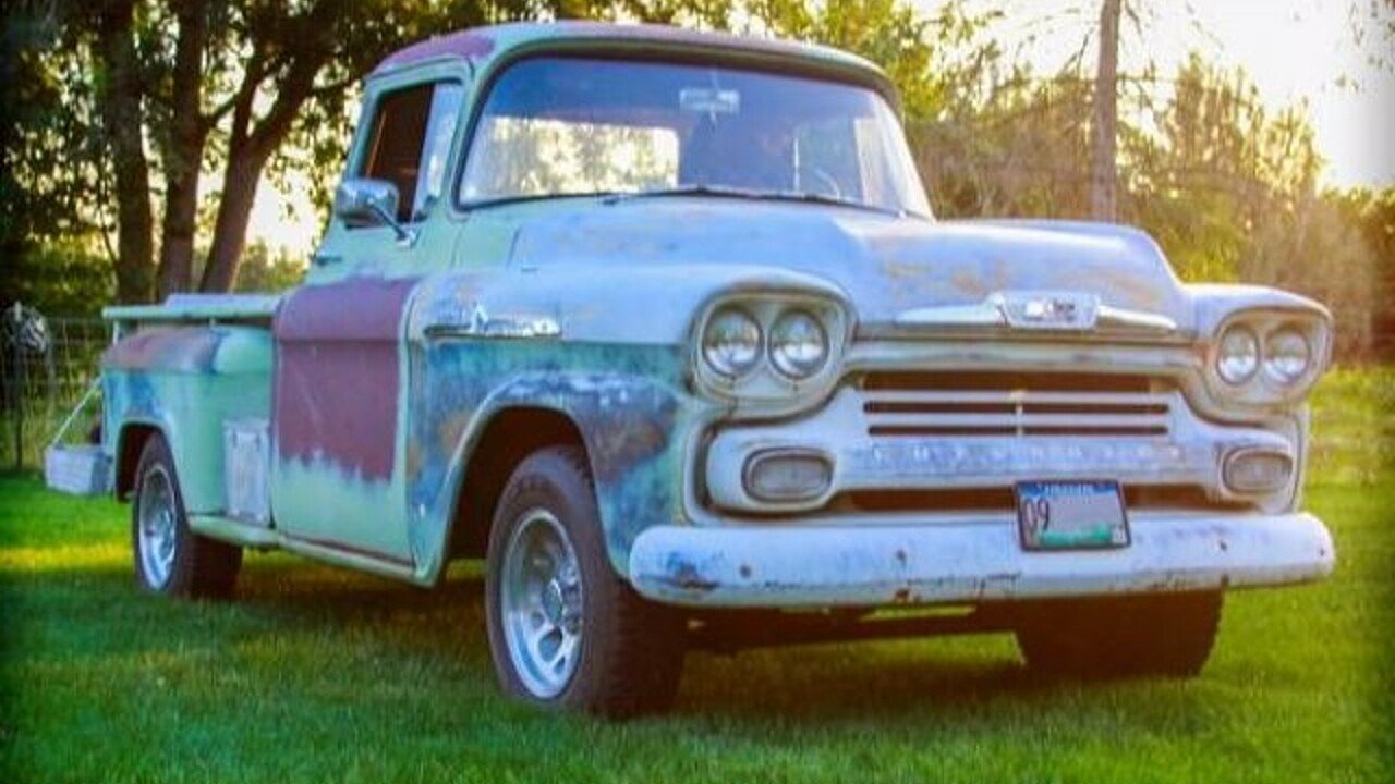 1958 chevrolet apache for sale near cadillac michigan 49601 classics on autotrader. Black Bedroom Furniture Sets. Home Design Ideas