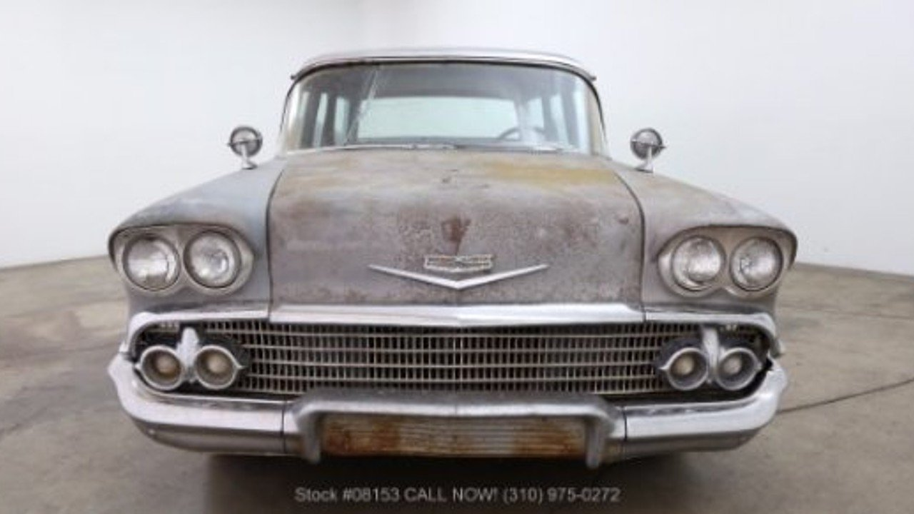 1958 Chevrolet Bel Air for sale near Los Angeles, California 90063 ...