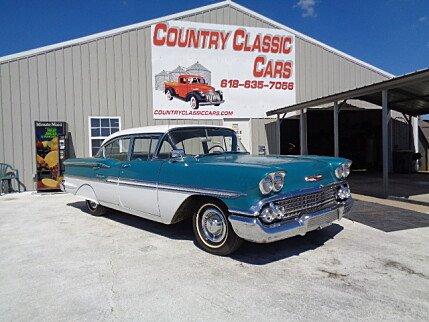 1958 Chevrolet Biscayne for sale 101033220