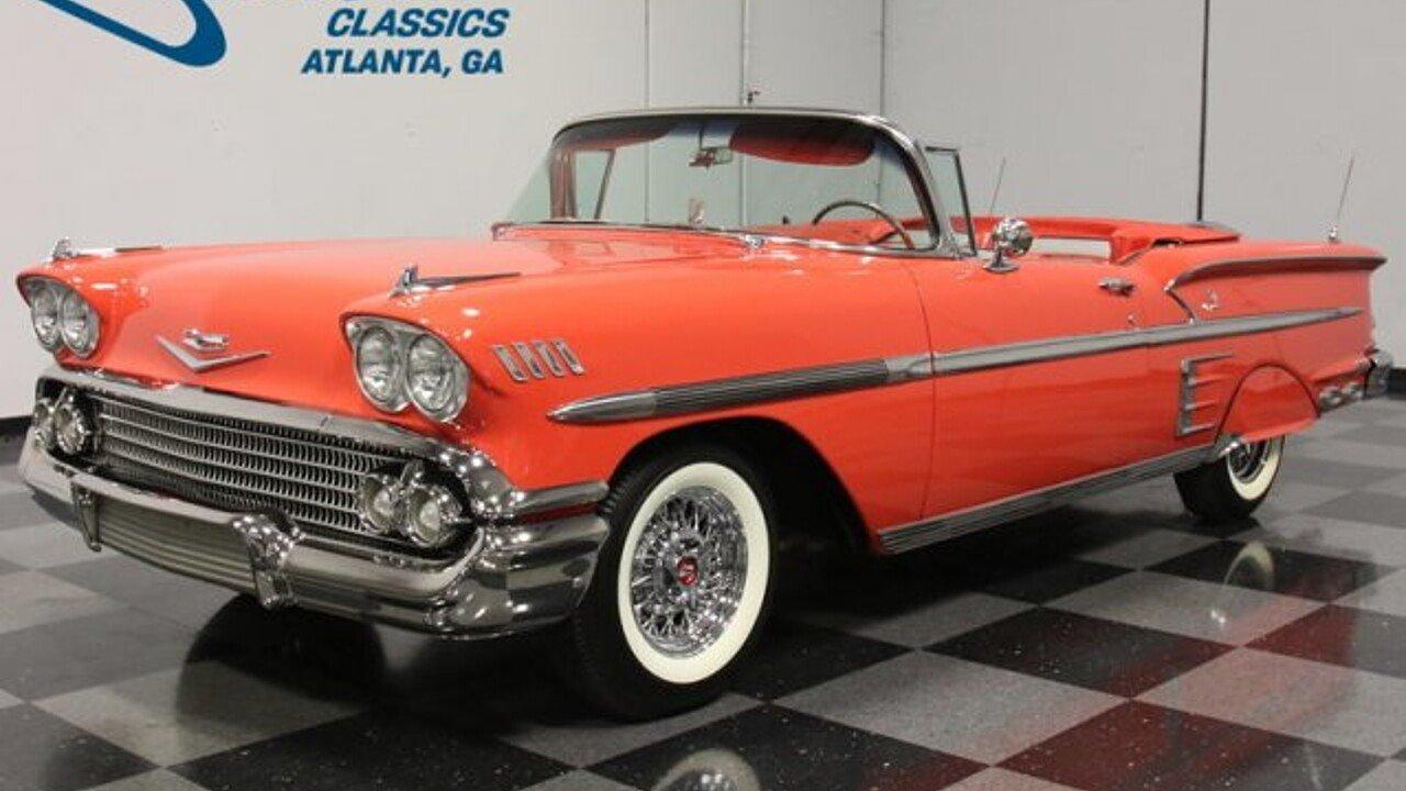 1958 Chevrolet Impala for sale near Lithia Springs, Georgia 30122 ...