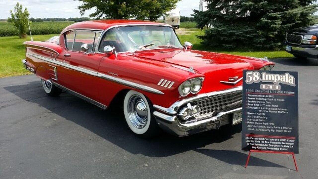 1958 Chevrolet Impala for sale near Annandale, Minnesota 55302 ...