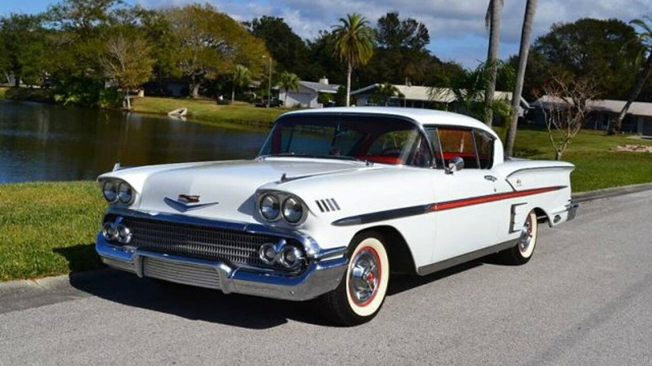 1958 chevrolet impala for sale near clearwater florida 33755 classics on autotrader. Black Bedroom Furniture Sets. Home Design Ideas